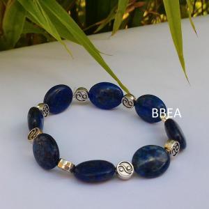 Bracelet lapis lazuli 2