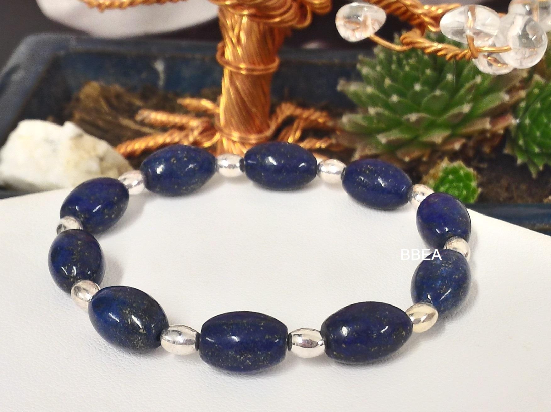 Bracelet lapis lazuli 3 1