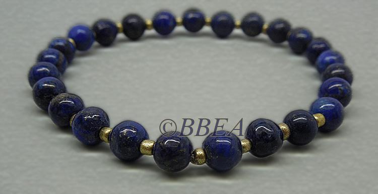 Bracelet lapis lazuli 3650