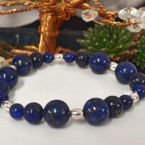 Bracelet lapis lazuli 4 1
