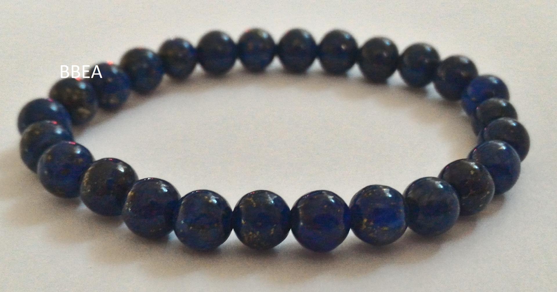 Bracelet lapis lazuli 4