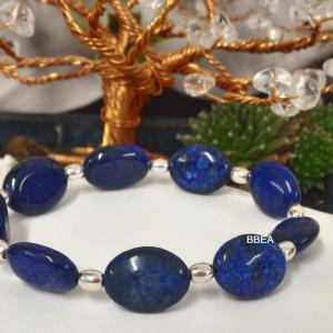 Bracelet lapis lazuli 5