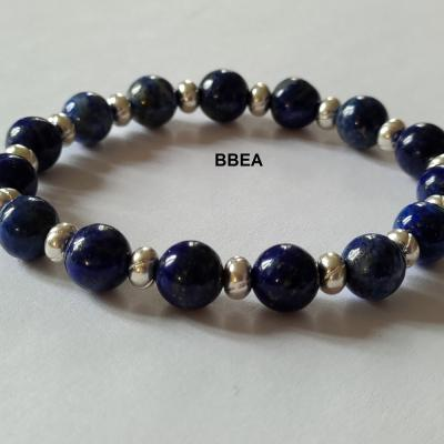 Bracelet lapis lazuli 7