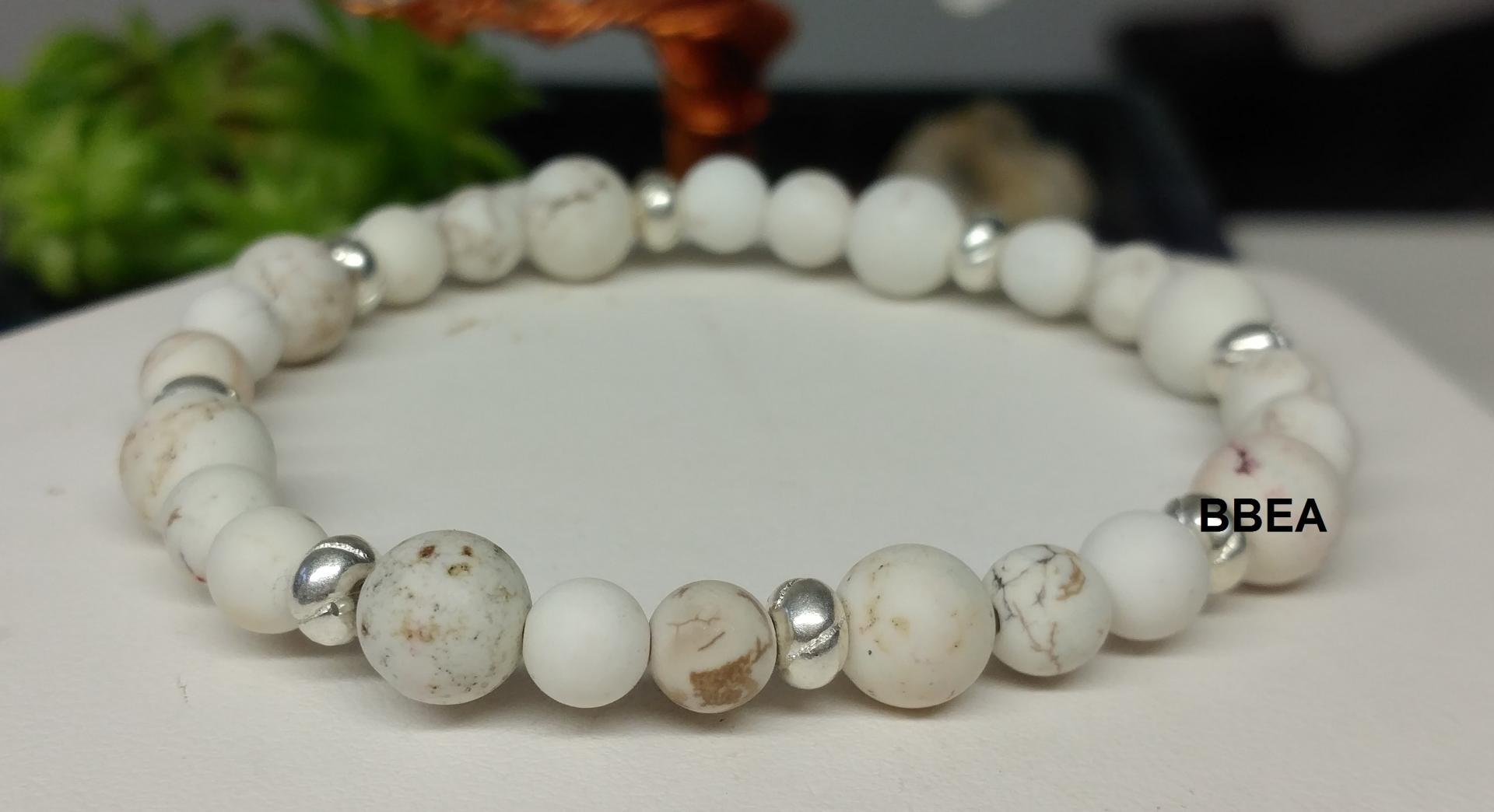 Bracelet magnesite 1 3