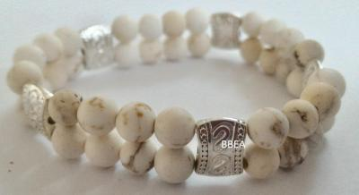 Bracelet magnesite 1