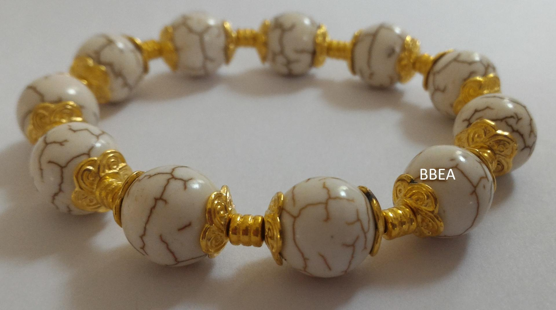 Bracelet magnesite 2 1