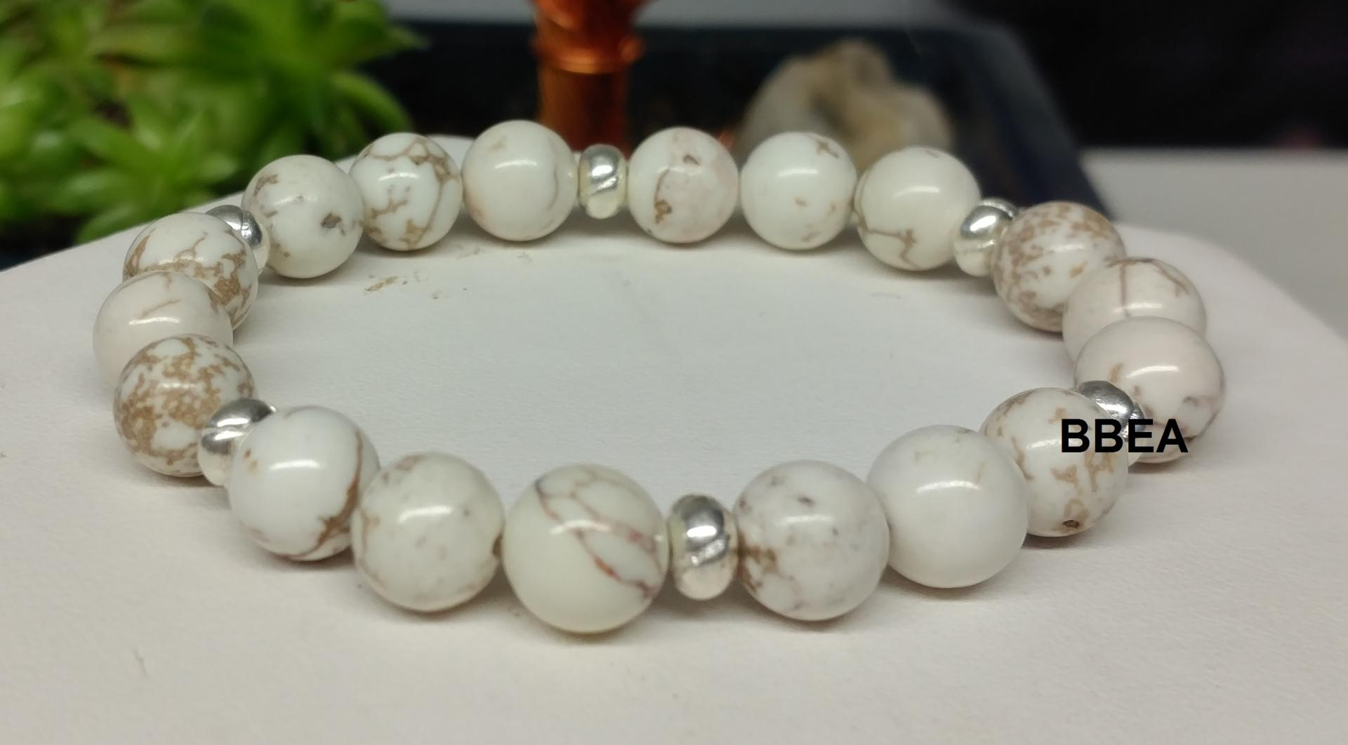 Bracelet magnesite 2 3