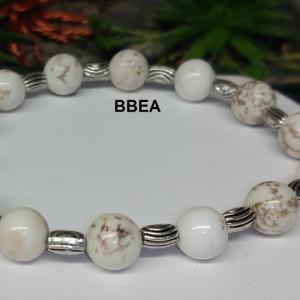 Bracelet magnesite 2 4
