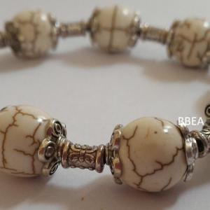 Bracelet magnesite 3 1