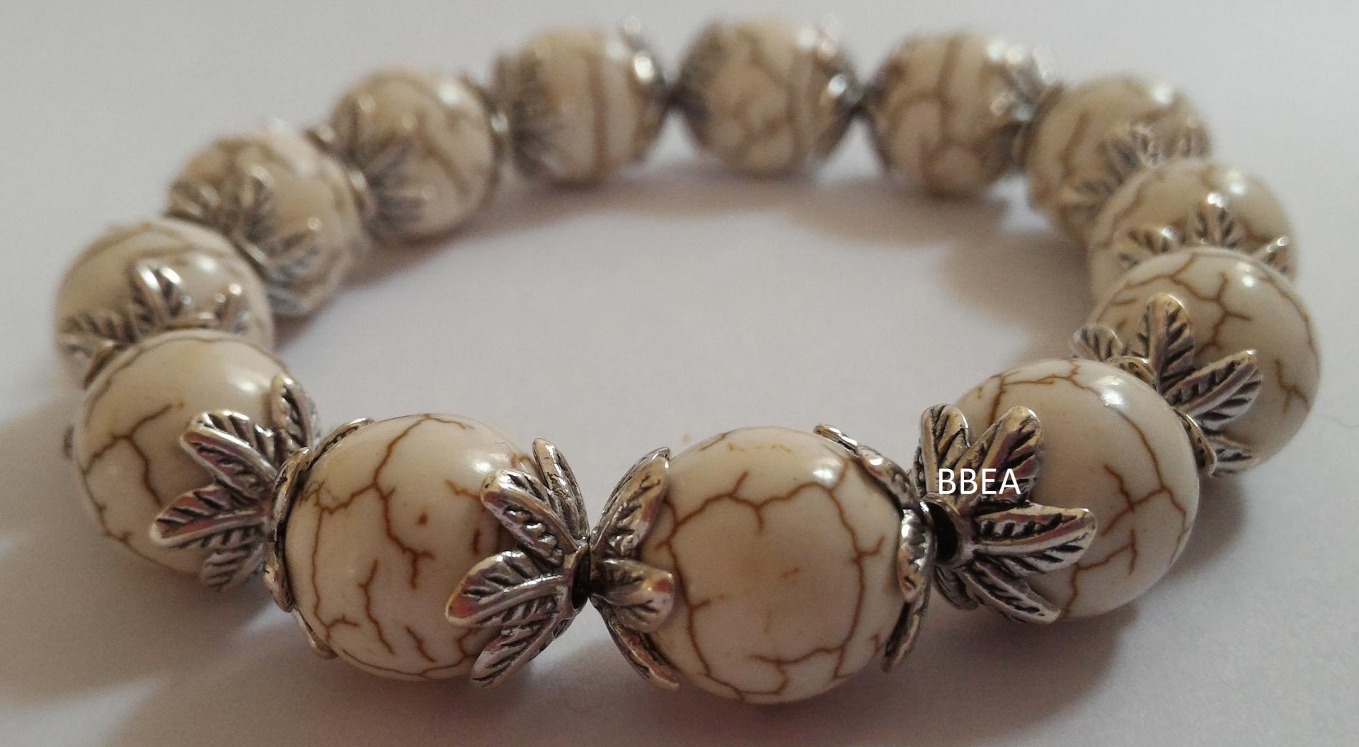 Bracelet magnesite 4 1