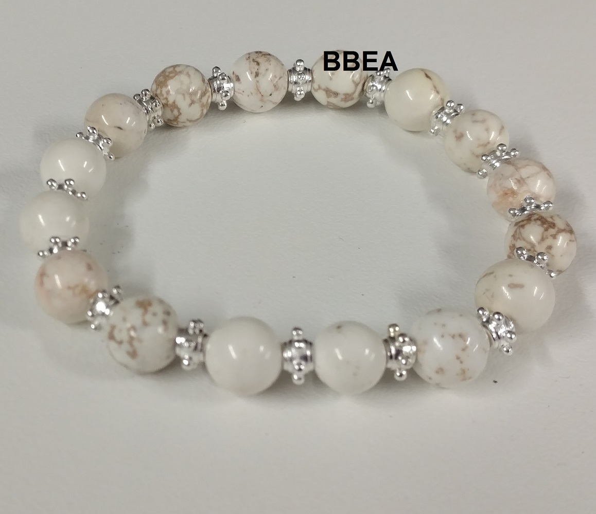 Bracelet magnesite 4 2