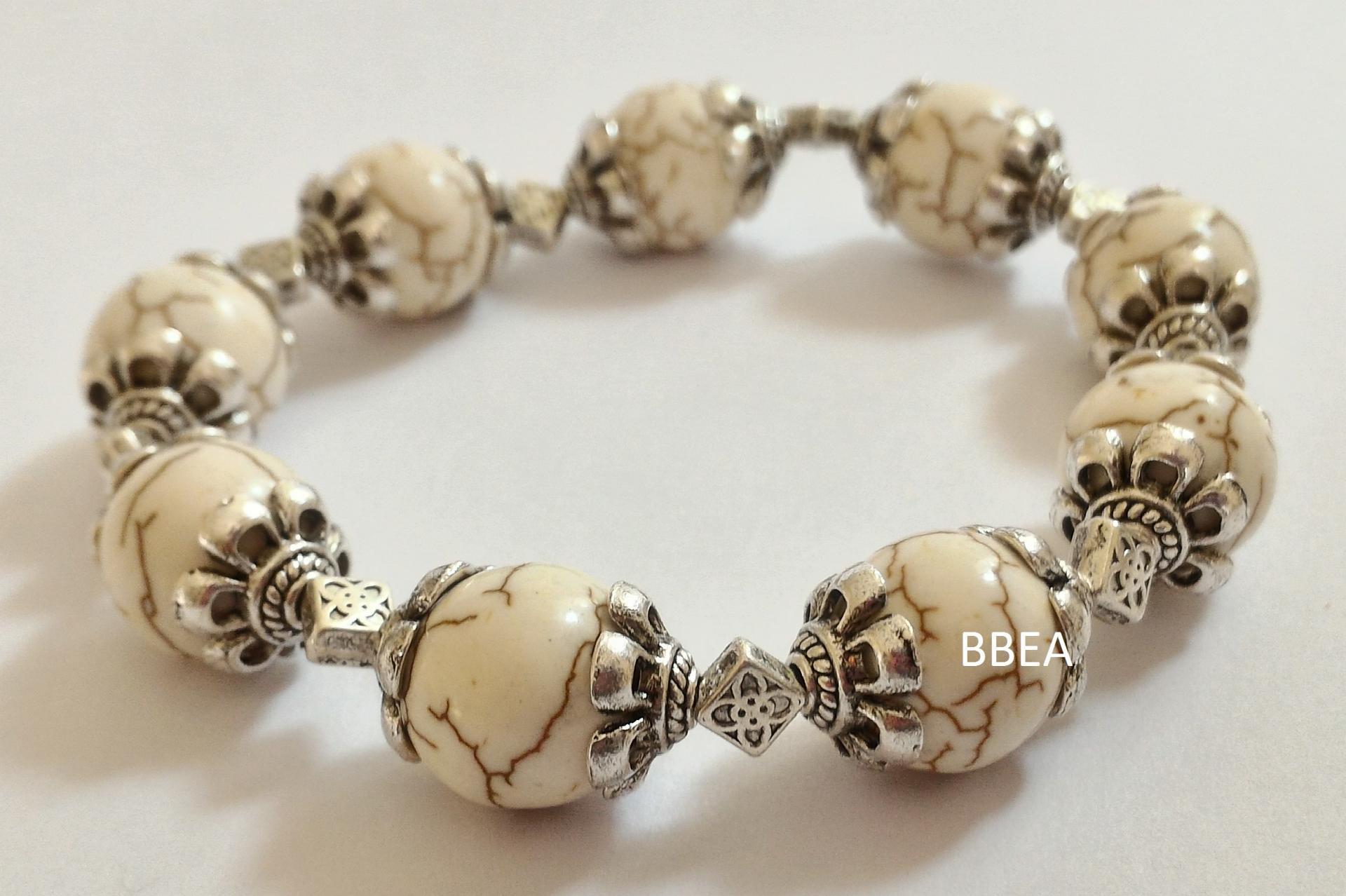 Bracelet magnesite 5 1