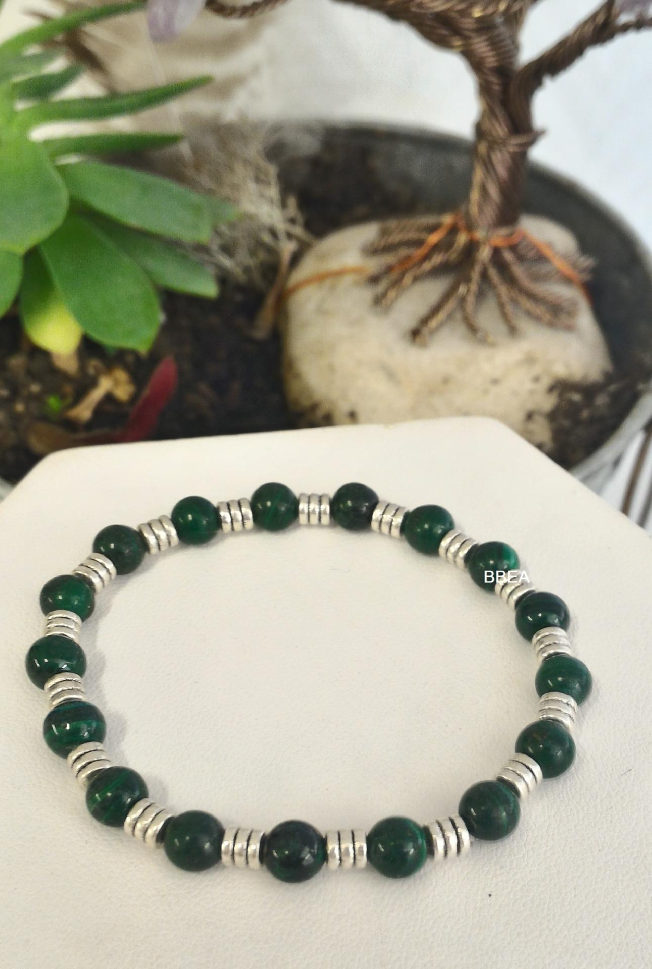 Bracelet malachite 2 1