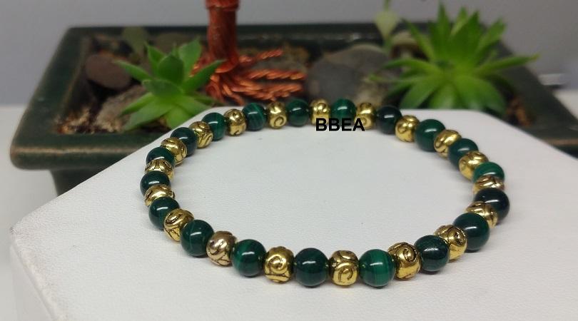 Bracelet malachite 3 1
