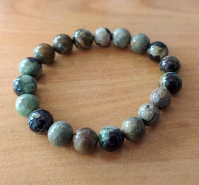 Bracelet opale verte
