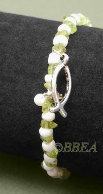 Bracelet peridot 3210