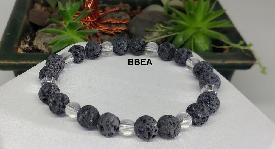 Bracelet pierre de lave 1