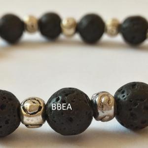 Bracelet pierre de lave 4