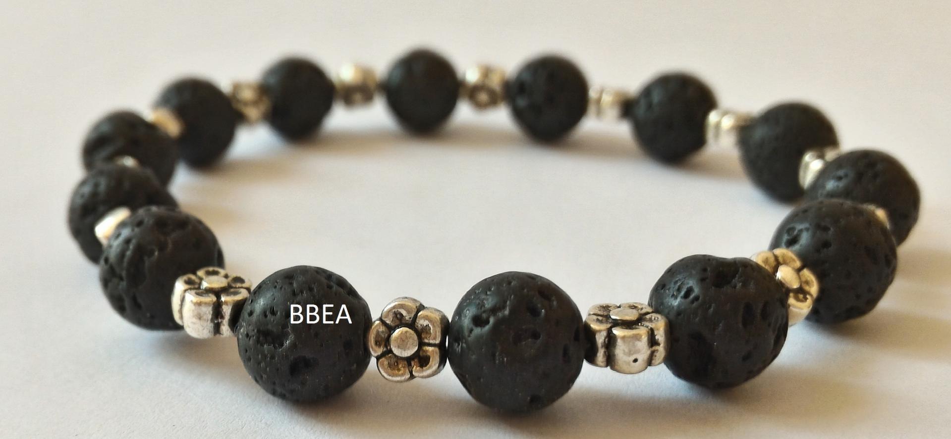 Bracelet pierre de lave 7