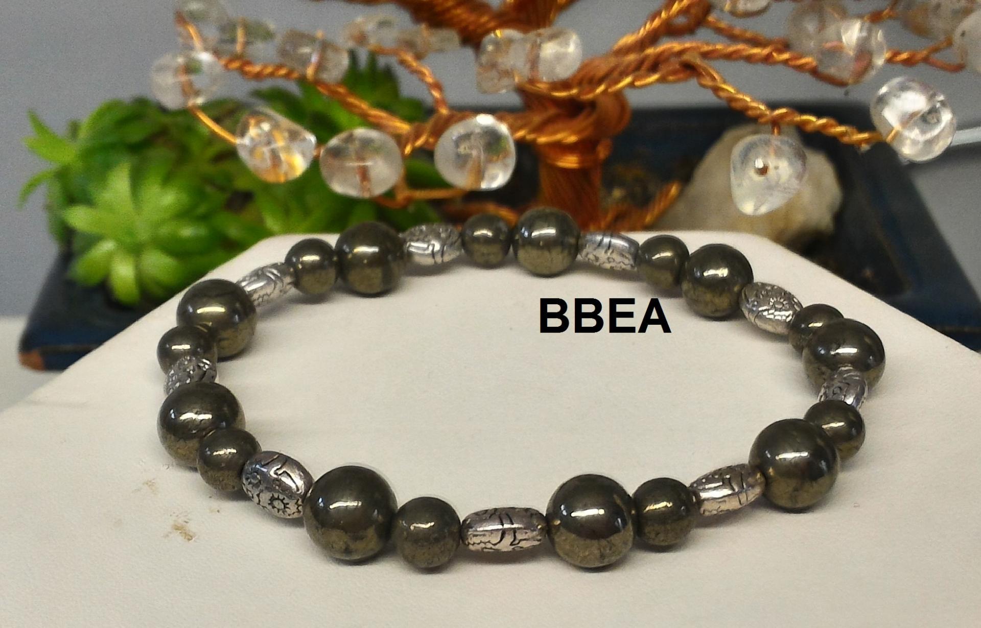 Bracelet pyrite 2