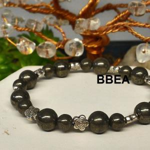 Bracelet pyrite 4