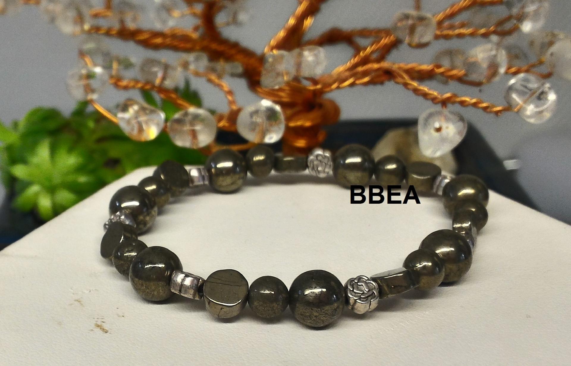 Bracelet pyrite 5