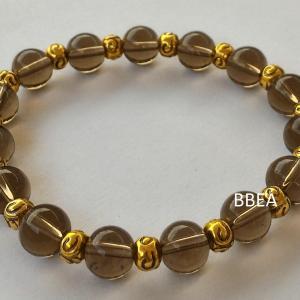 Bracelet quartz fume 1