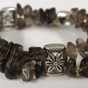 Bracelet quartz fume 2 1