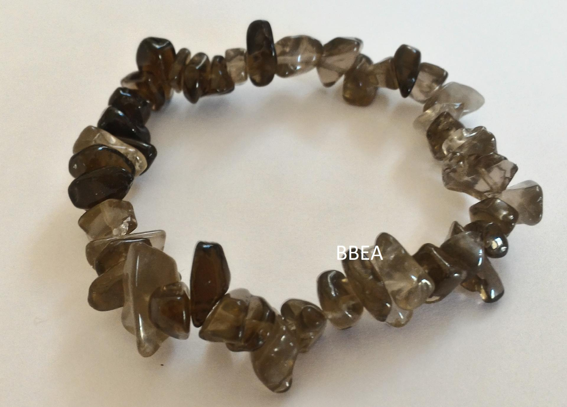 Bracelet quartz fume 2