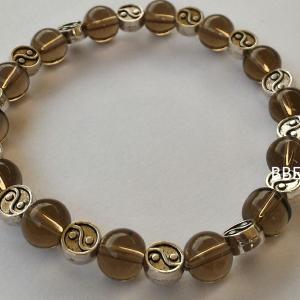 Bracelet quartz fume 5