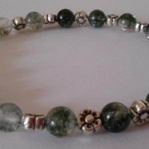 Bracelet quartz lodolite