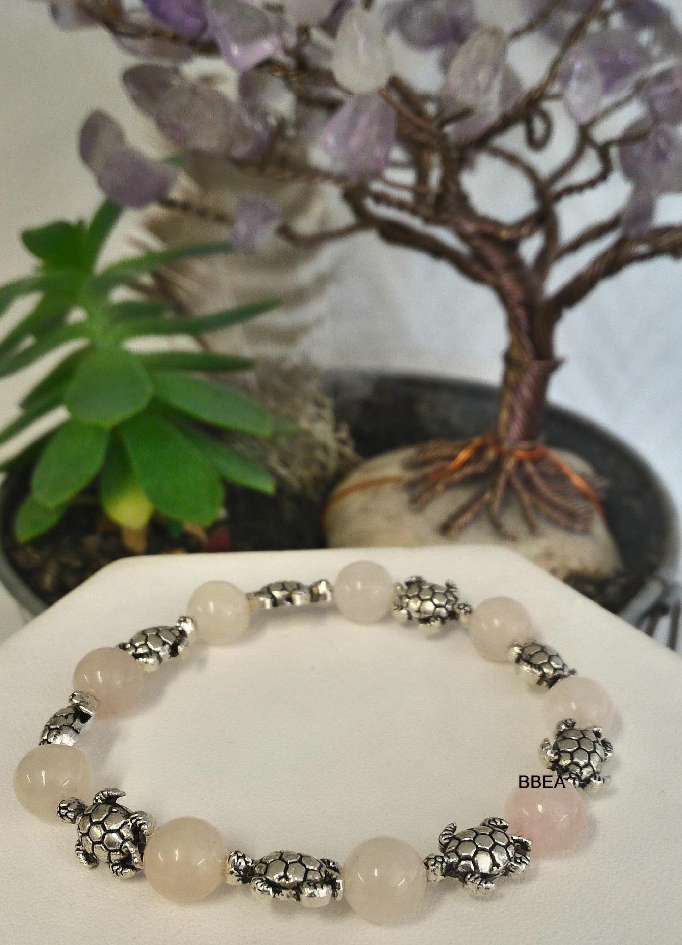 Bracelet quartz rose 1