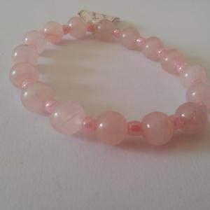 Bracelet quartz rose 10