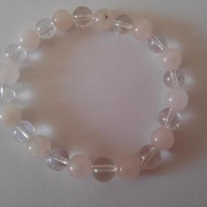 Bracelet quartz rose 12