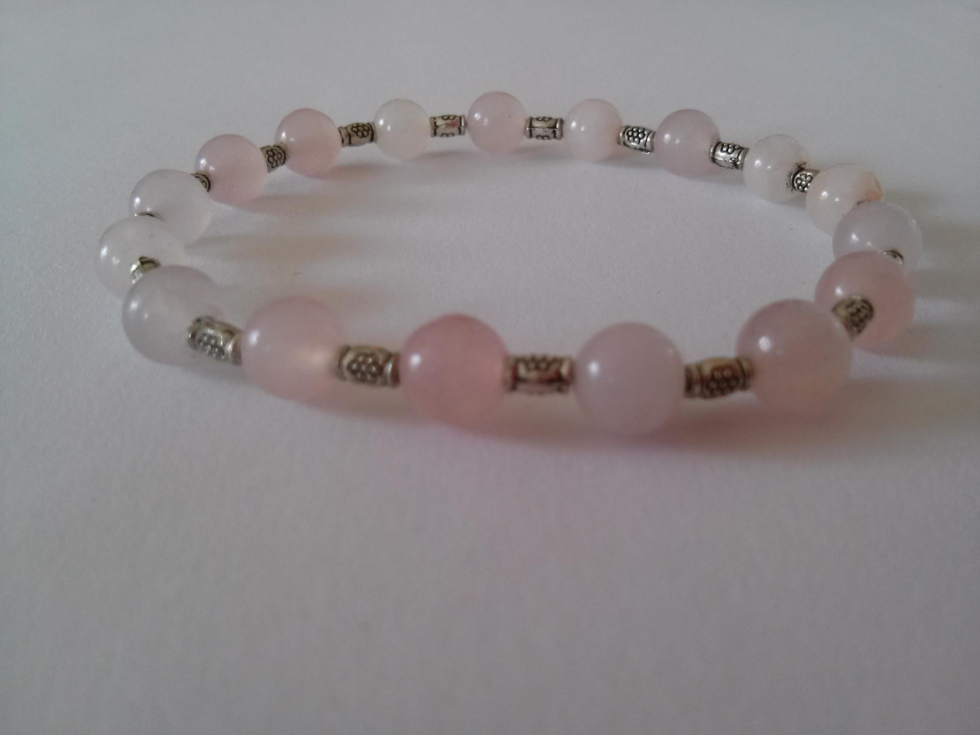Bracelet quartz rose 14