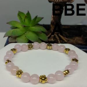 Bracelet quartz rose 2 2