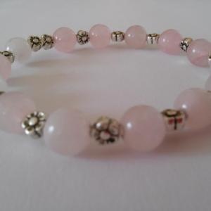 Bracelet quartz rose 21