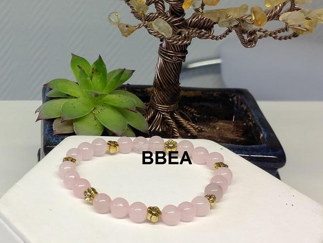 Bracelet quartz rose 3 2