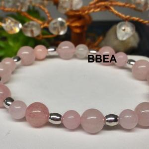Bracelet quartz rose 3