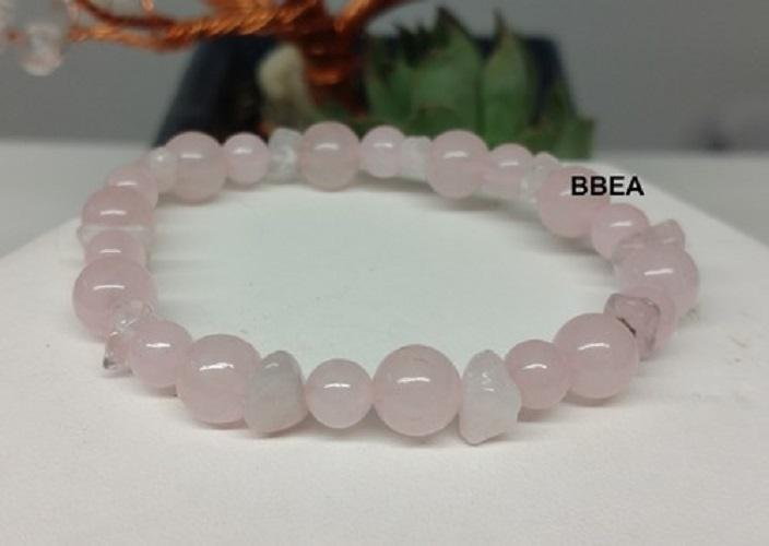Bracelet quartz rose 4
