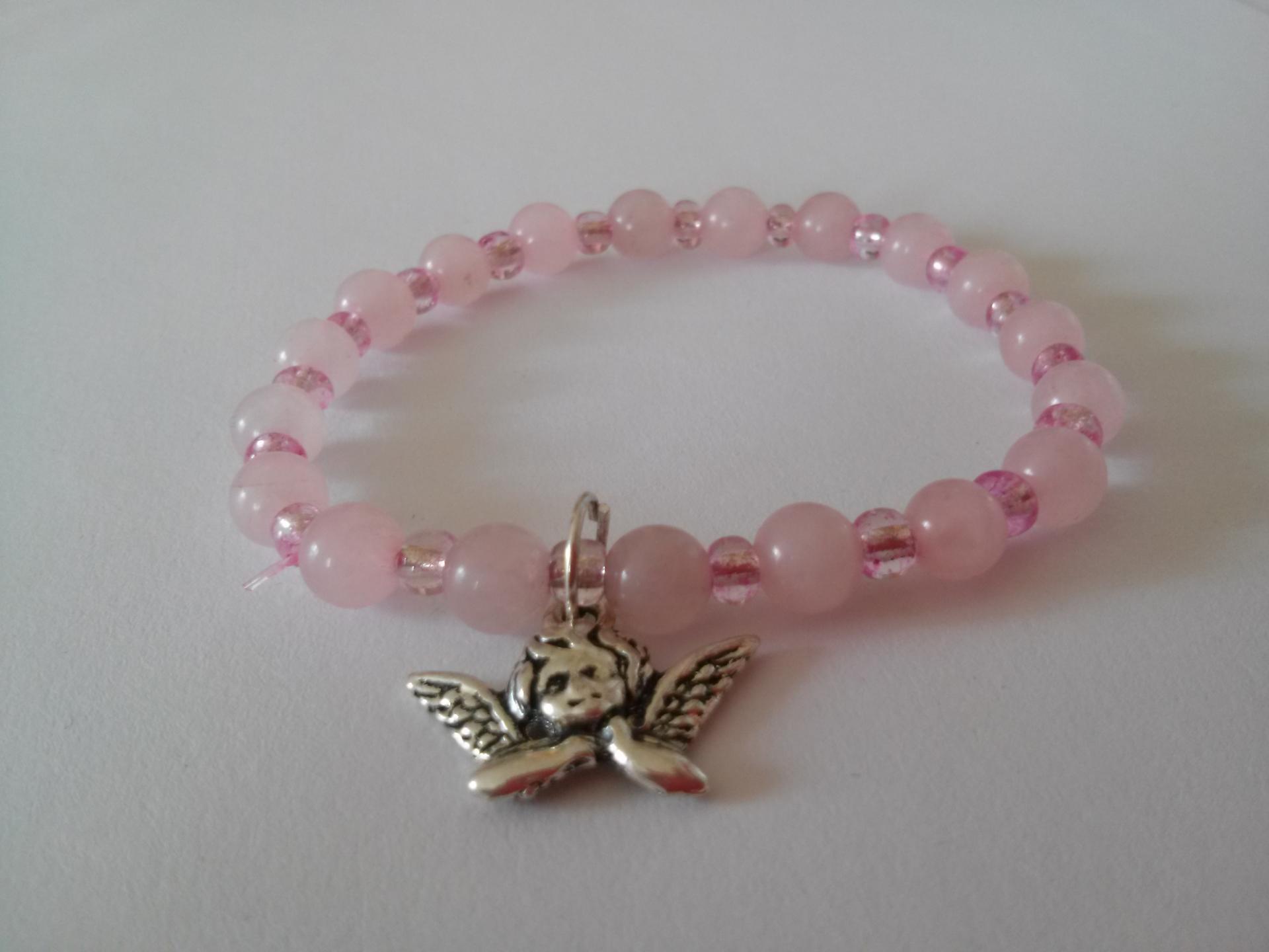 Bracelet quartz rose 7