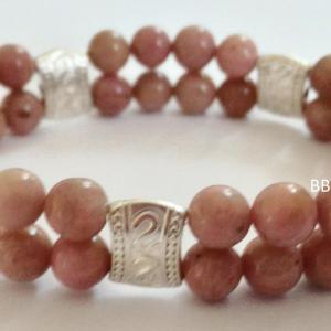 Bracelet rhodocrosite 1