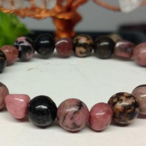 Bracelet rhodocrosite 3