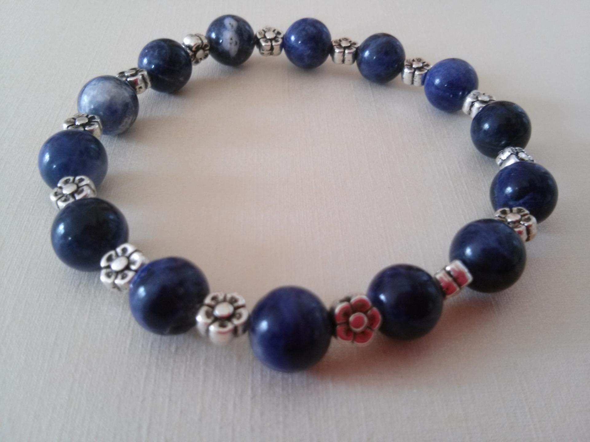 Bracelet sodalite 4 1