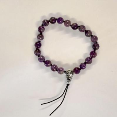 Bracelet tibetain amethyste 1