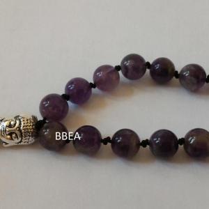 Bracelet tibetain amethyste