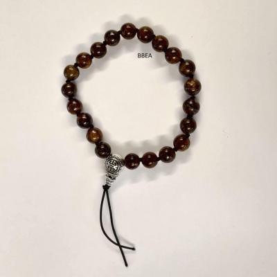 Bracelet tibetain bronzite