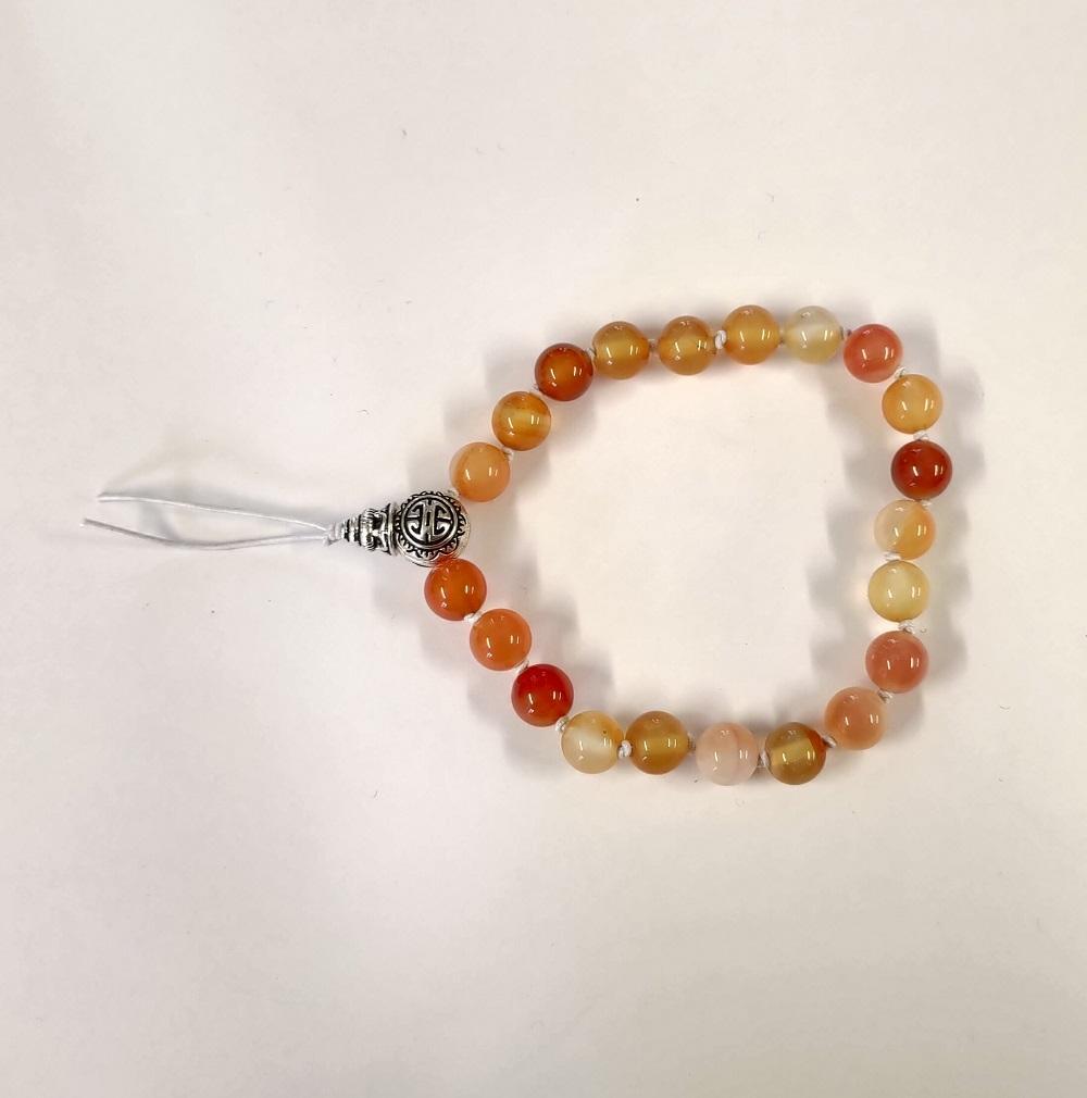 Bracelet tibetain cornaline 1