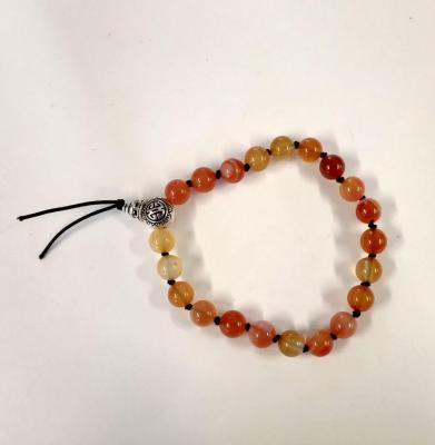 Bracelet tibetain cornaline 2