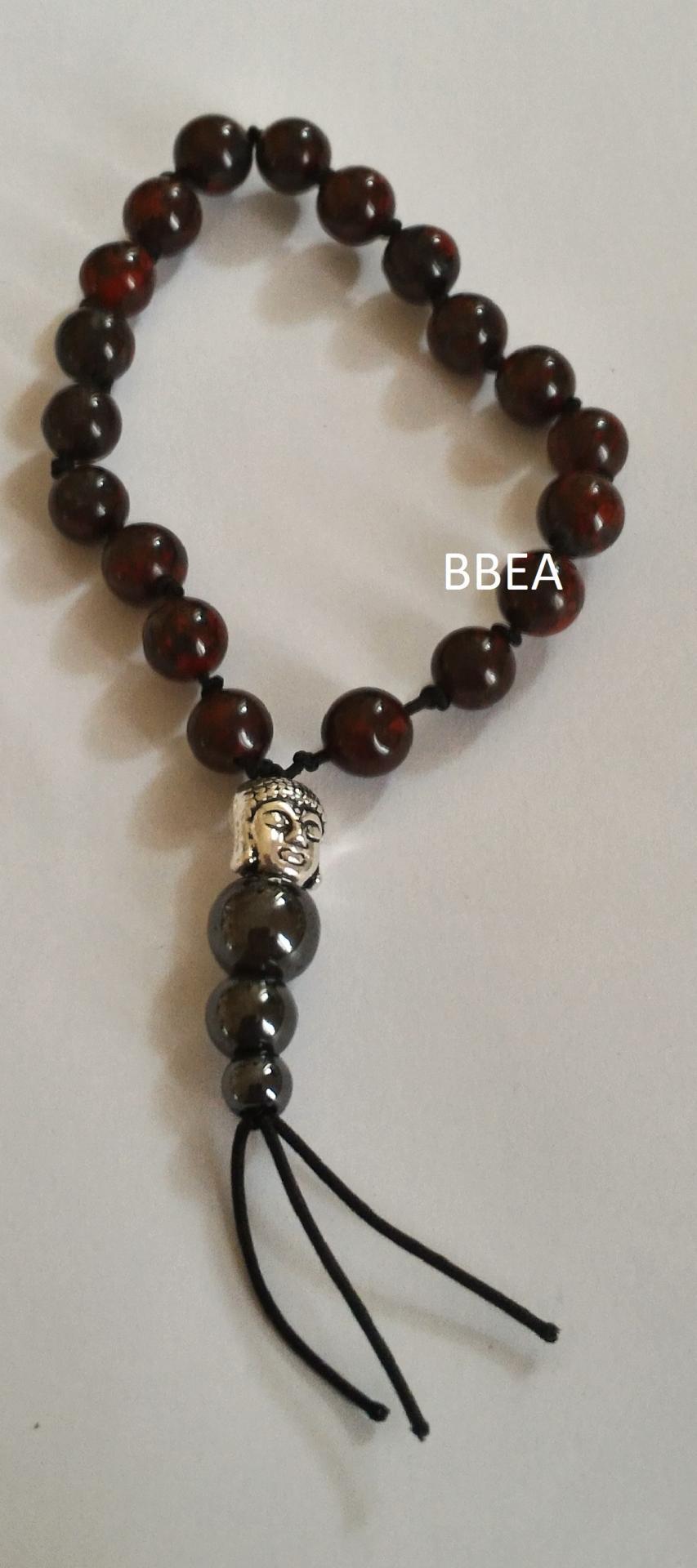 Bracelet tibetain jaspe brechia
